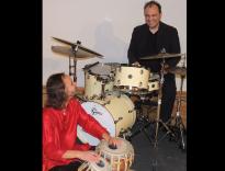 Manzecchi/Schiertz-Duo am 27. Dezember 2020 im Old Mary's Pub